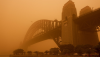 Red Dawn – dust storm strikes Sydney